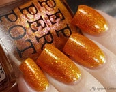 Queen Of The Galaxy Orange Jelly Nail Polish Polish Pickup