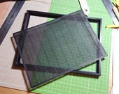 3D-Printed Papermaking Mould and Deckle with a Watermark (For A5-Sized Sheets of Paper)