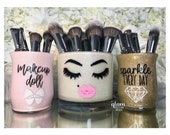 Multiple Makeup Brush Holders Listing with Medium Flat Rate Box Shipping