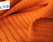 Lillestoff Rippstrick, 16.56Euro/m, Bio-Rippstrick zimtorange, bio, biberkidz, grobstrick, strick, orange, zimtorange, 0.25m=Stückzahl1