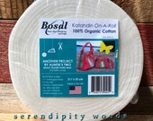 """PREORDER - Bosal Katahdin On A Roll 2 1/2""""- 25' rolls batting for use with Jelly Roll Rug Patterns by R.J. Designs Roma Lambson"""