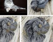 Here Kitty, Kitty! - Hand Dyed - Fingering Weight - SW Merino / Nylon - 113 grams - 8 ply