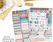 Just Smile 2 Page Planner Sticker Kit