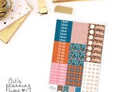 Just Smile Add-On Headers, Pattern Headers, and Date Cover Planner Stickers