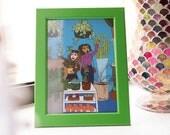 5x7 Art Illustration Print: The Plant Shop