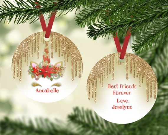il_570xn - Best Friend Christmas Ornaments