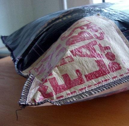 Reciclado casero de bolsas plasticas