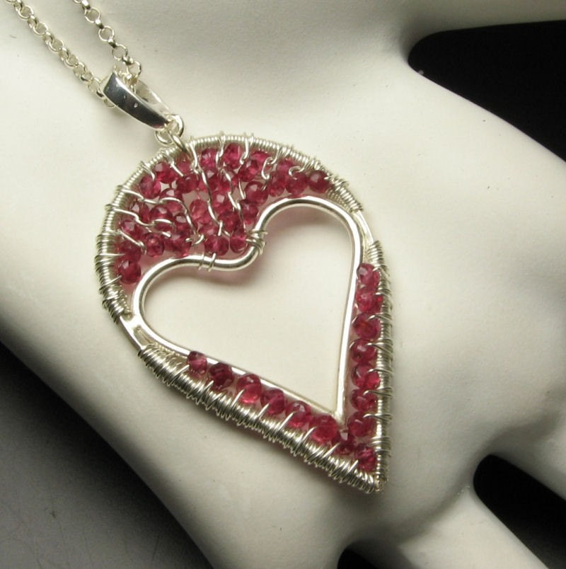 Jewelry Sets Silver Plated Angel W/red Heart Rhinestone Earrings Jewelry & Watches
