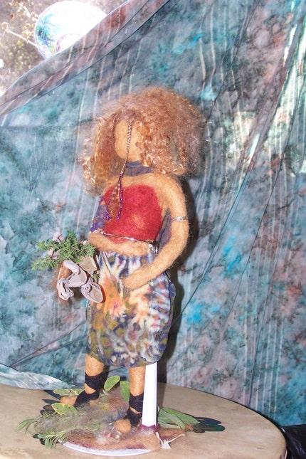Garden Fairy Doll