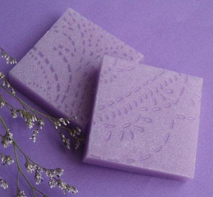 NEW Custom Embossed Soap Bars - perfect for wedding favors