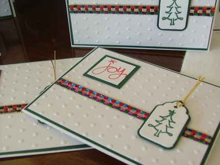 8 JOY Christmas Cards