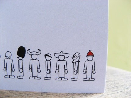 Many Hats - Christmas Card