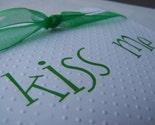 Kiss Me Im Irish - Greeting Card