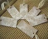Khaki Shimmer Gift Tags