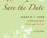 SAVE THE DATE via email for a GREENER wedding - Kayla
