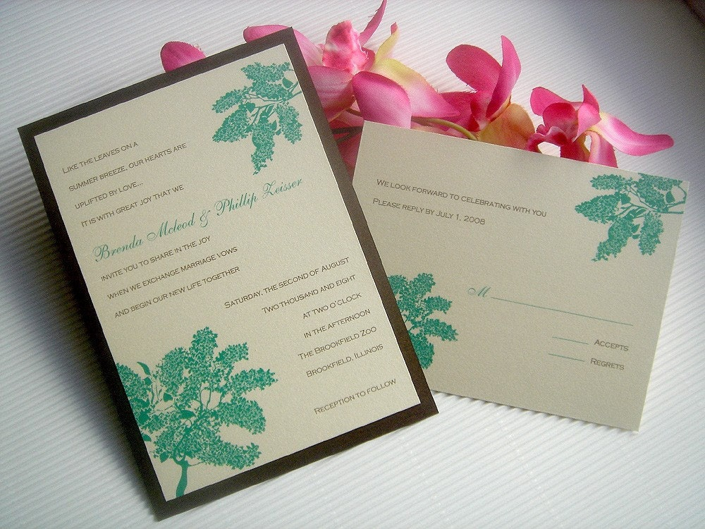 Wedding stationery is fun to design It 39s also an honor since it 39s one of