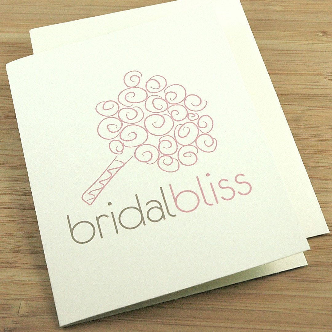 Bridal Bliss Shower Card