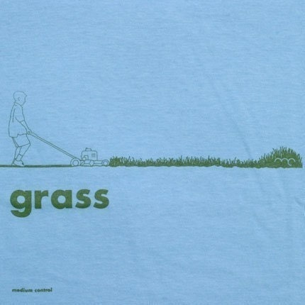 grass -- mens tshirt