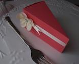 Raspberry Sherbert Cake - Served by the Slice - set of 12