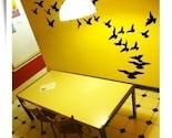 Birds in Flight wall graphic