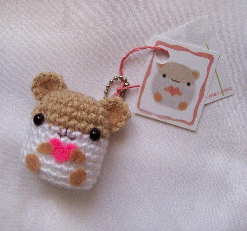 Kawaii Amigurumi Cupcake Keychain : amigurumi ohhmyygullayy!