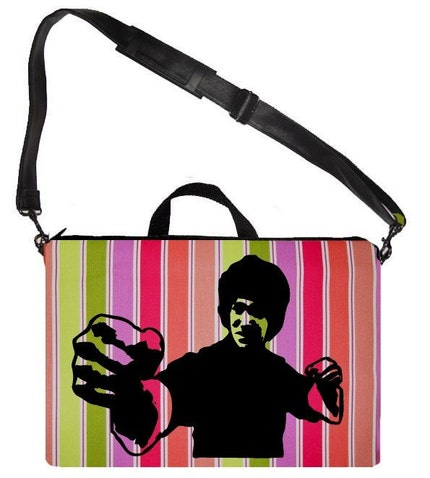 Bruce Lee Laptop Case