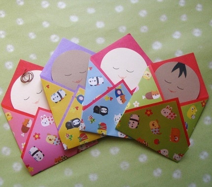 Bundled Baby Card : Asian iCandy Store, Unique Asian Arts and Gifts From Independent Artists