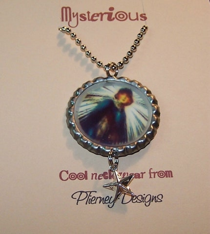 Etsy :: Nancy Drew Vintage Bottlecap Necklace