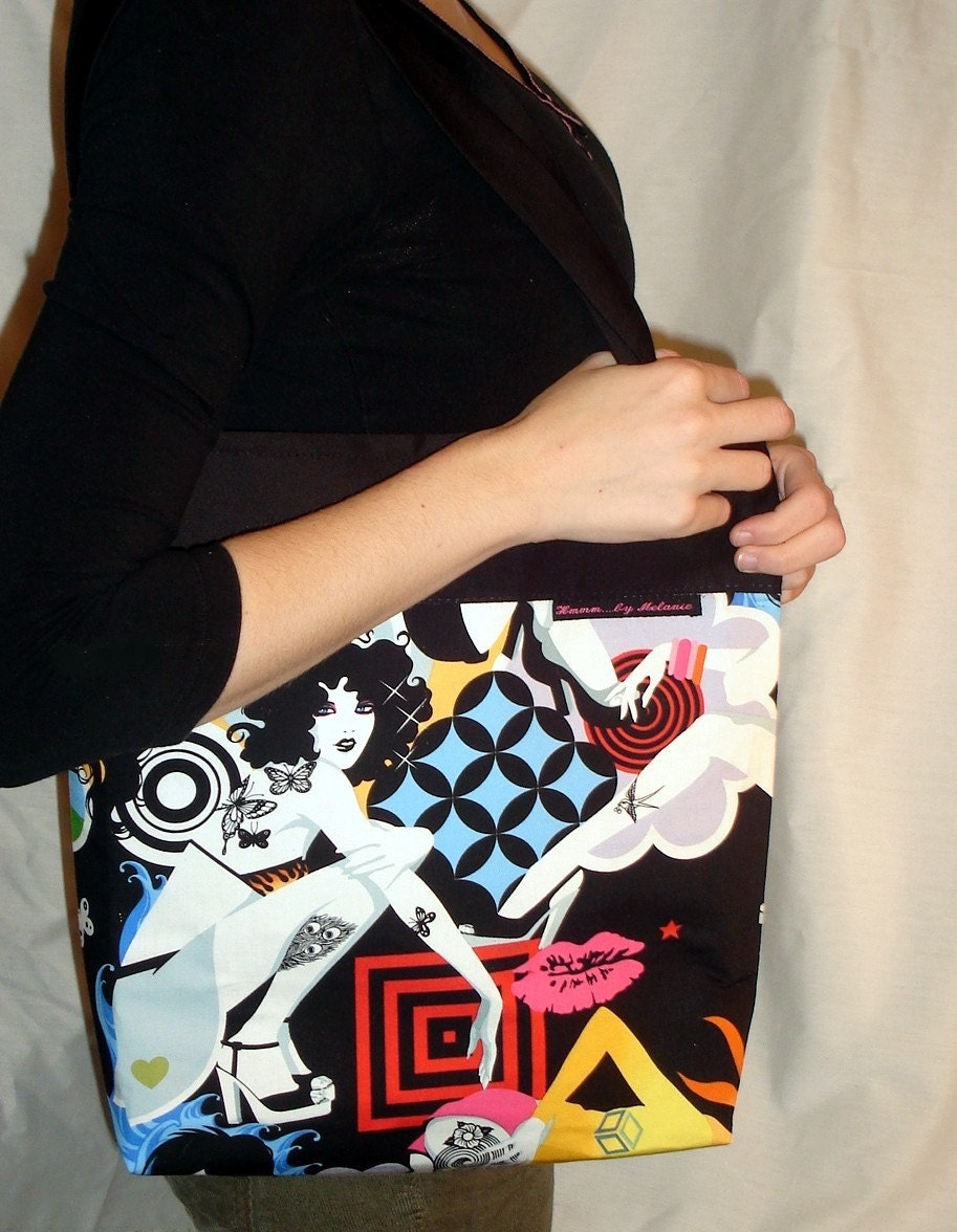 8e53f4fa068574 Oh my....what an absolutely KILLER bag! hmmmbymel's shop on Etsy is filled  with goregous bags of all shapes and sizes...but this one...yup...this was  the ...