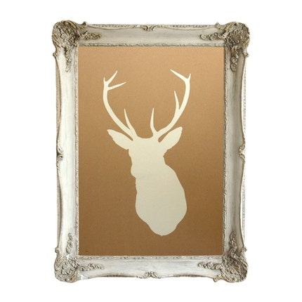 Deer Silhouette Stock Photos, Pictures, Royalty Free Deer