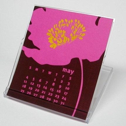 Etsy :: 2008 letterpress calendar from etsy.com
