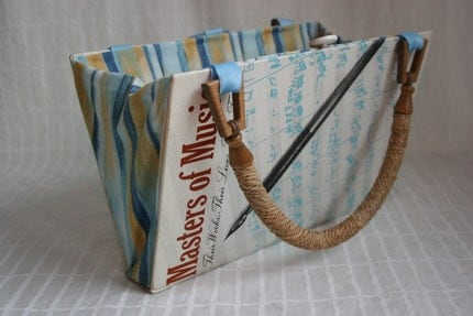 Masters of Music...Book Purse