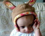 BUNNY RABBIT HAT -- Medium