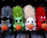 PATTERN - Potato the Squirrel Dressed For Halloween 2 Crochet Patterns Amigurumi PDF