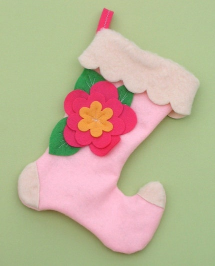 Cindy Who Felt Christmas Stocking