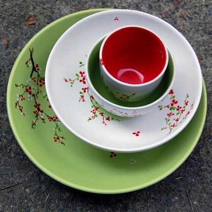 Etsy :: Set of ceramic bowls from etsy.com