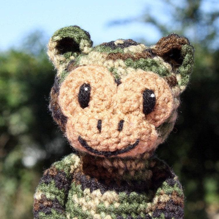 Camouflage Monkey