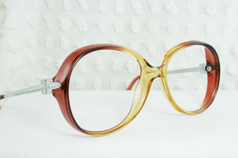 vintage 70s glasses 1970 s oversize eyeglasses by diaeyewear