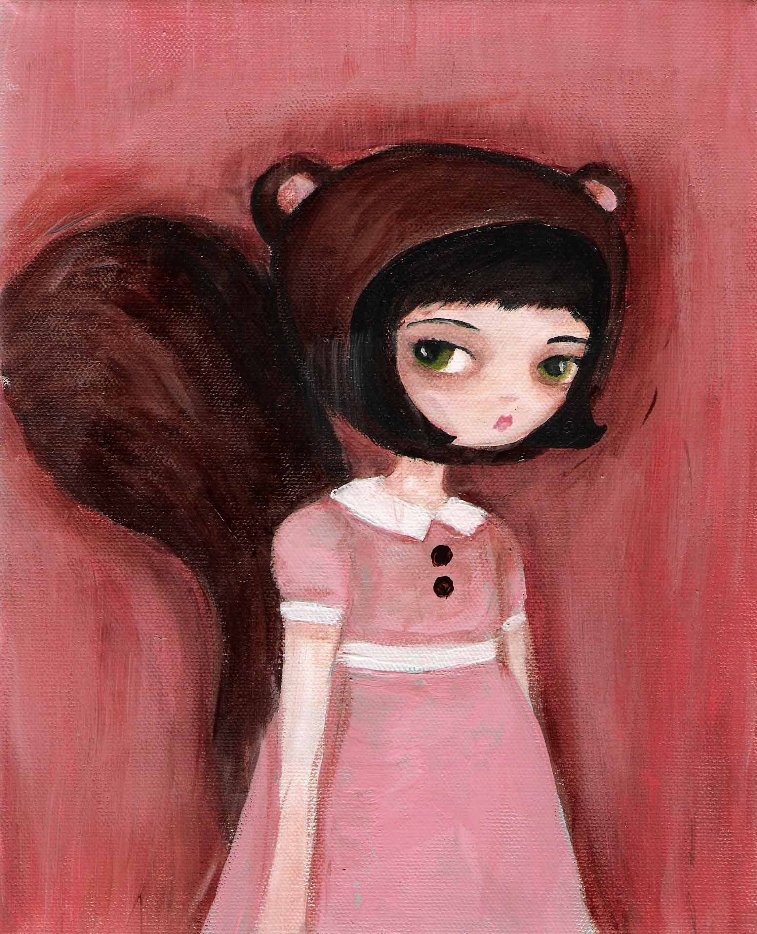Squirrel Girl Print