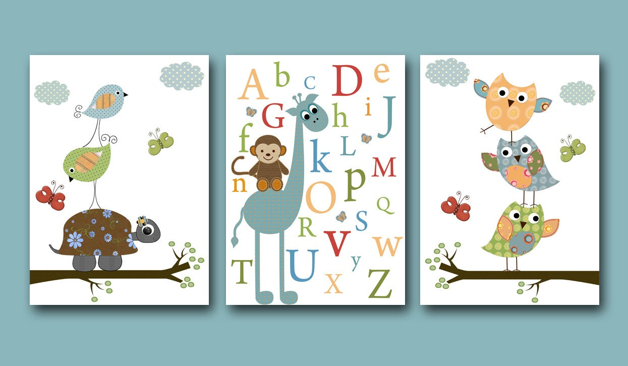 Baby Boy Room Owls