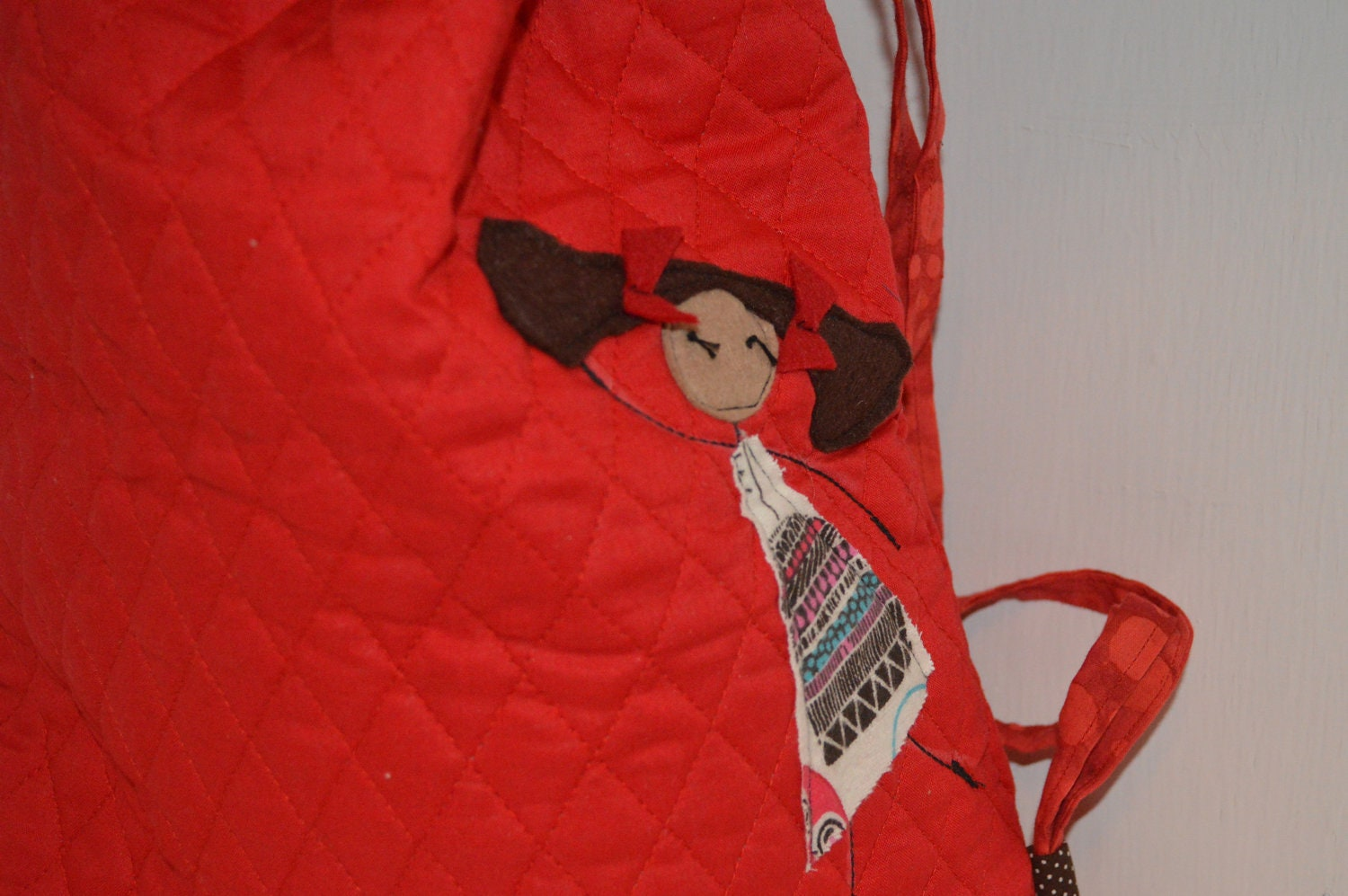 Red Dancer Library Ballet Bag