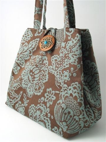 handmade XL hobo tote bag  shoulder handbag italian by daphnenen