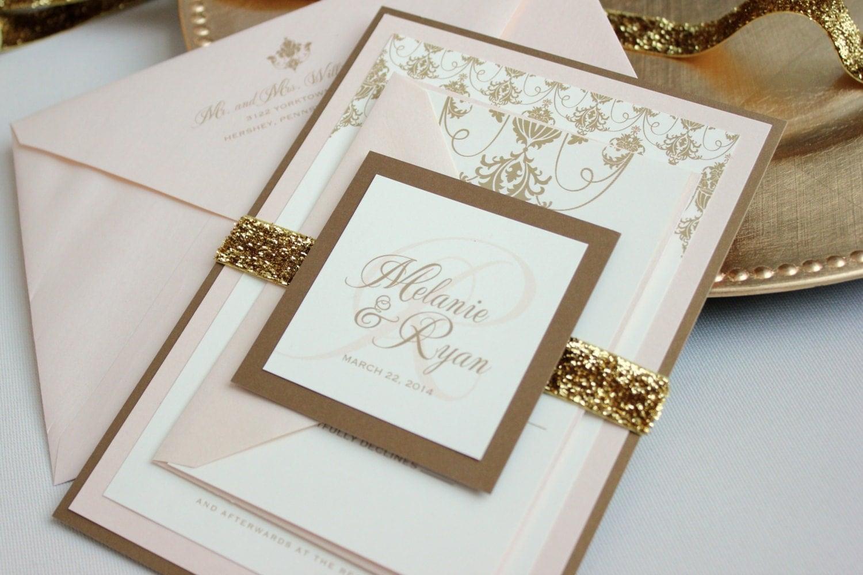 Wedding Ideas: Blush, Cream, and Gold Wedding Theme!
