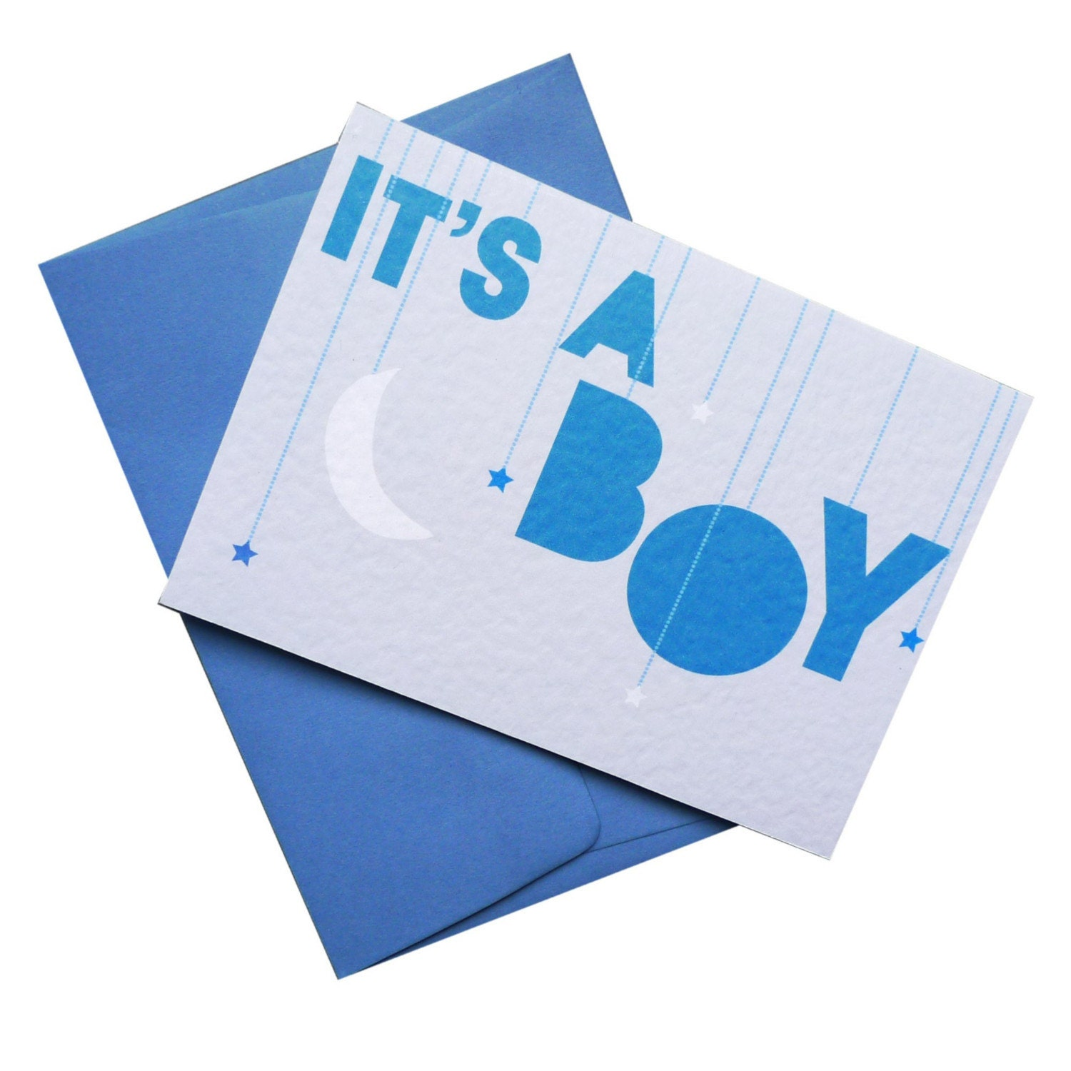 A Star Is Born - It's A Boy Greetings Card