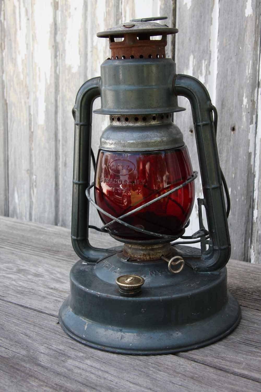 vintage dietz storm lantern