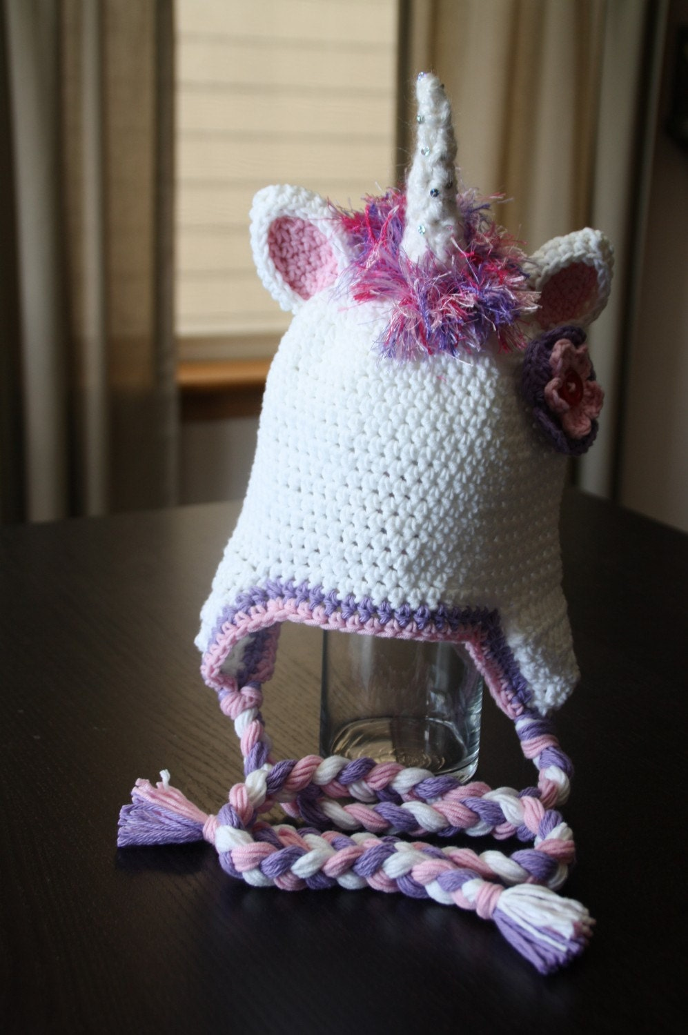 GLIMMER the UNICORN Crochet Hat Pattern
