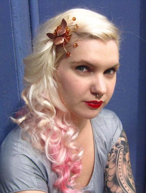 strange fruit golden cherries swarovski and molded by annabronwyn : tattoos