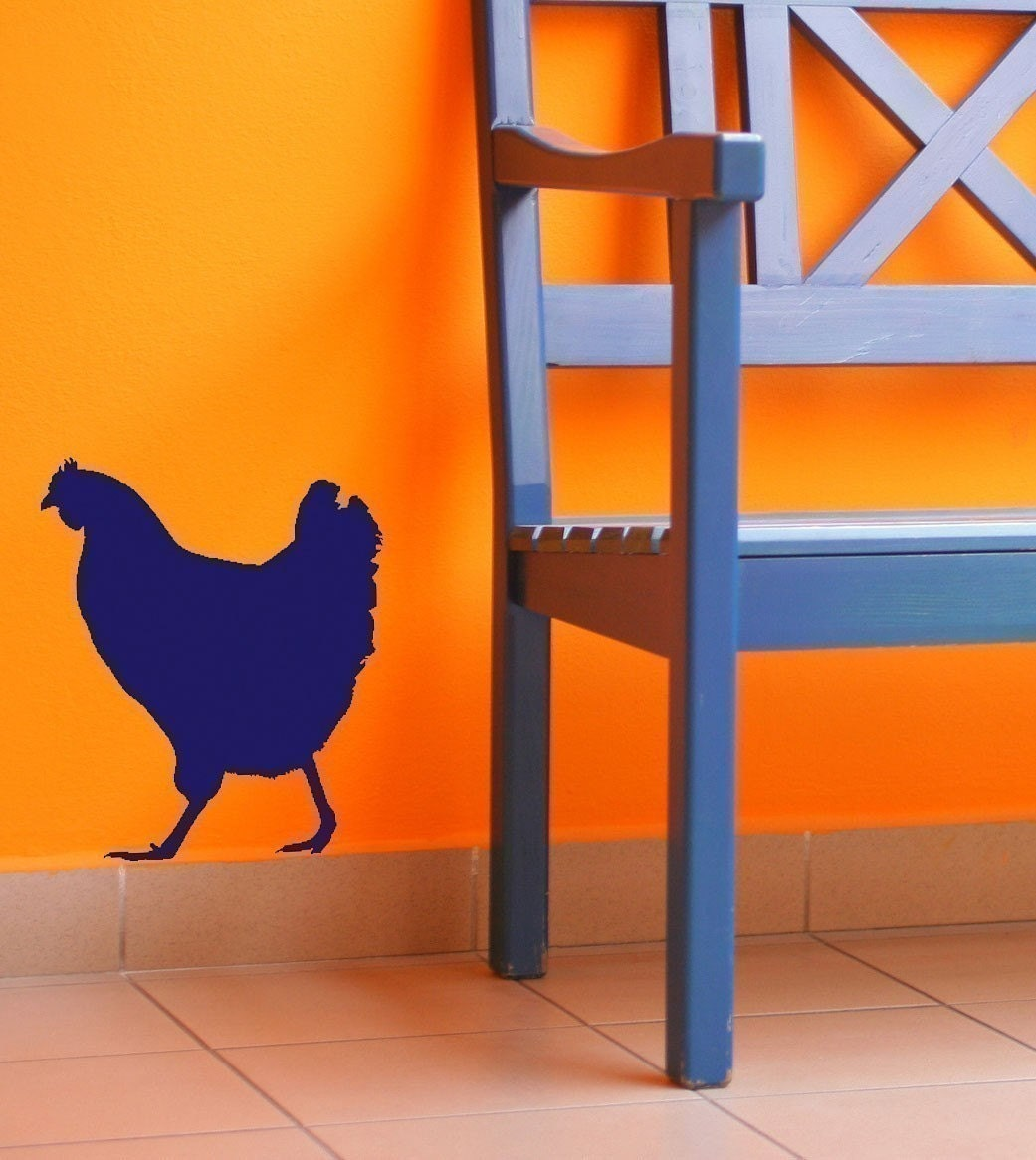 Chicken Vinyl Wall Decal