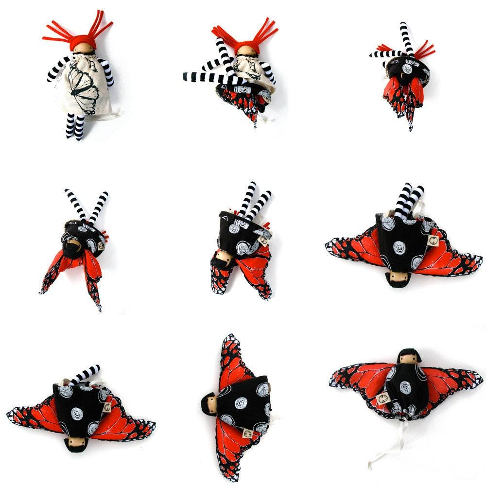 Butterfly Flip Doll
