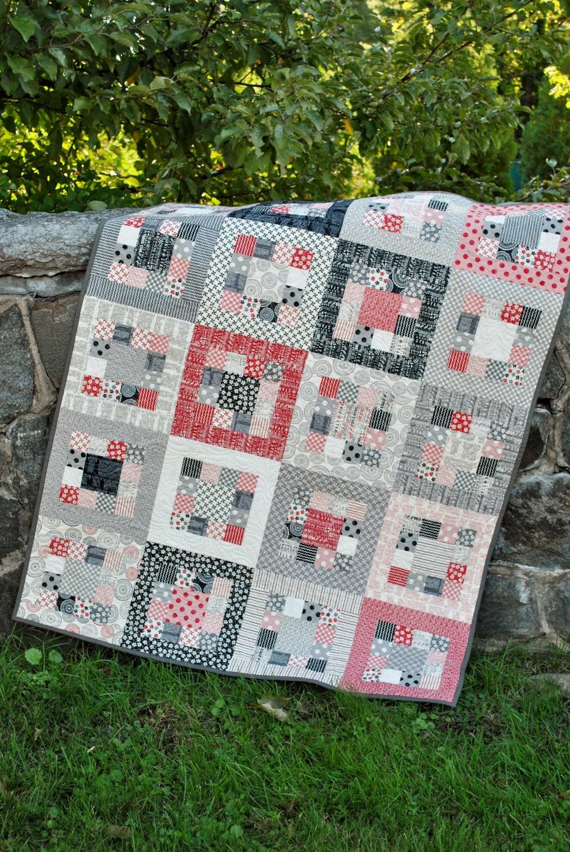 Pdf Quilt Pattern Easy One Jelly Roll By Sweetjane